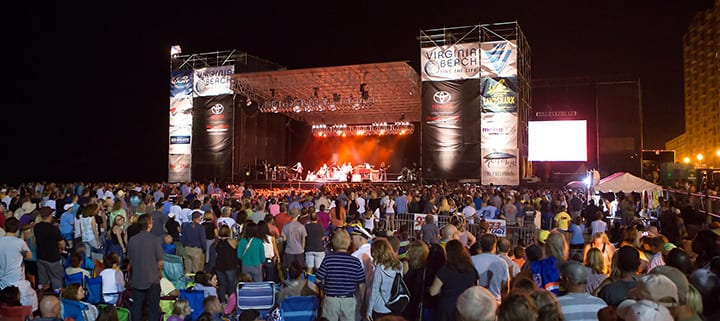 Virginia Beach hotel - events - American Music Festival