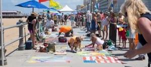 Virginia Beach hotel - events - Chalk the Walk ARTsplosion