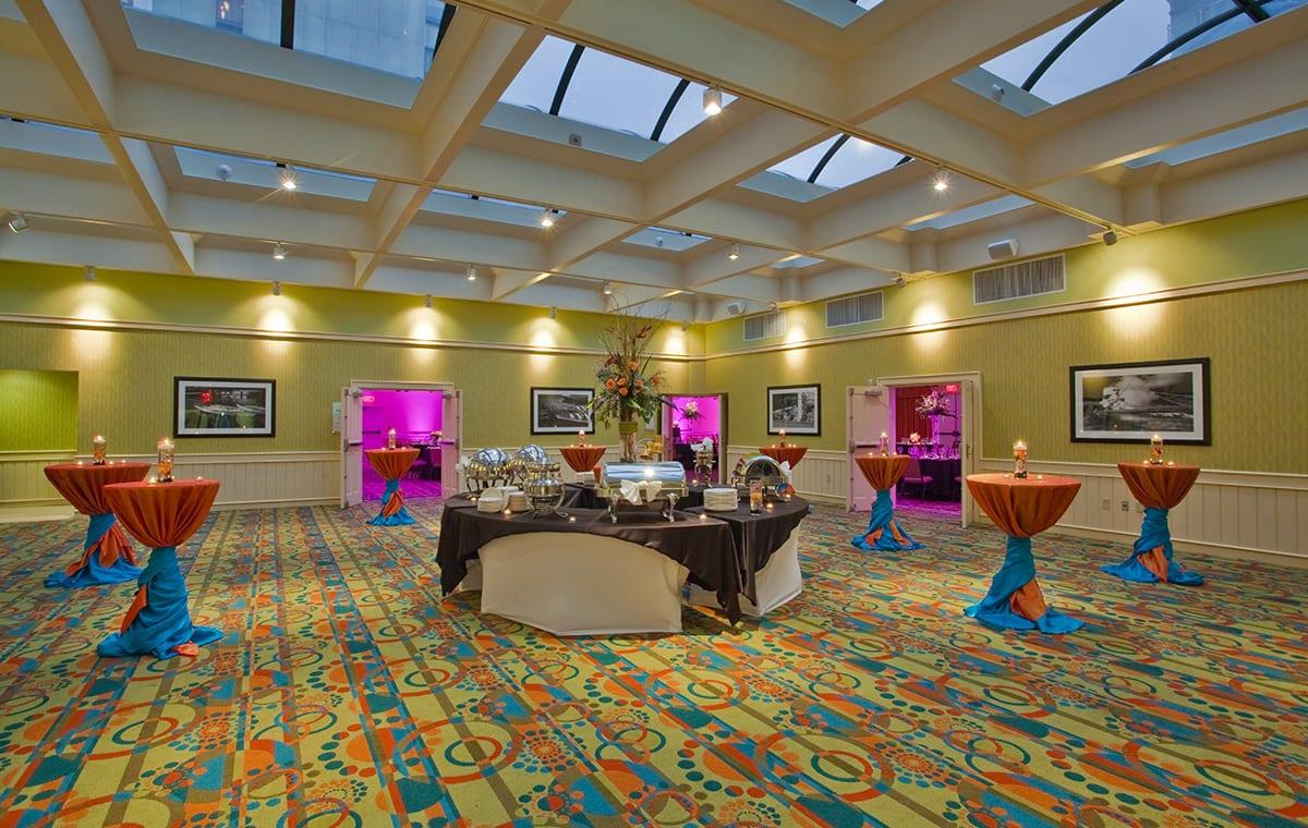 Virginia Beach hotel - atrium