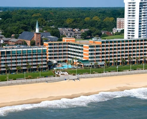 Virginia Beach hotel - Holiday Inn and Suites oceanfront hotel