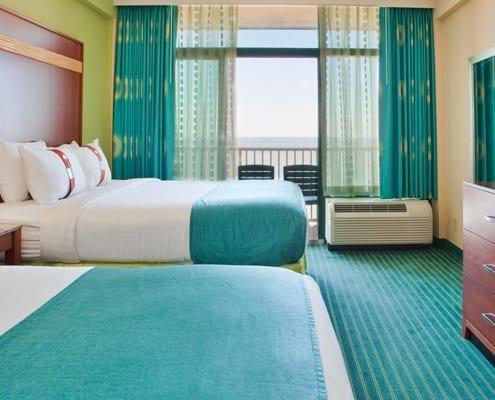 Virginia Beach hotel - oceanfront 2 queen bed room
