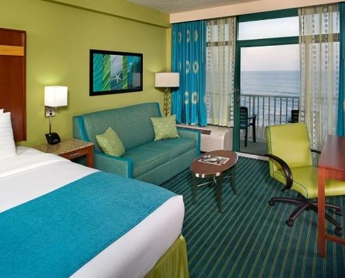 Virginia Beach hotel - oceanfront king bed room