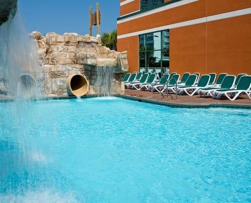 Virginia Beach hotel - waterslides