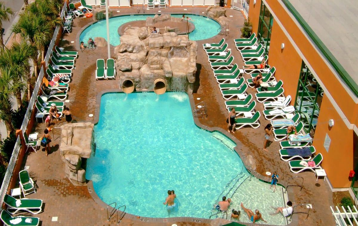 Virginia Beach hotel - Splish-Splash lagoon
