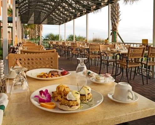 Virginia Beach hotel - The Greenery oceanfront breakfast
