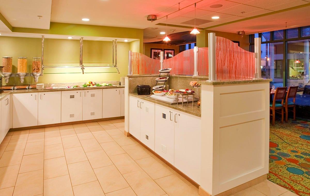 Virginia Beach hotel - The Greenery breakfast buffet
