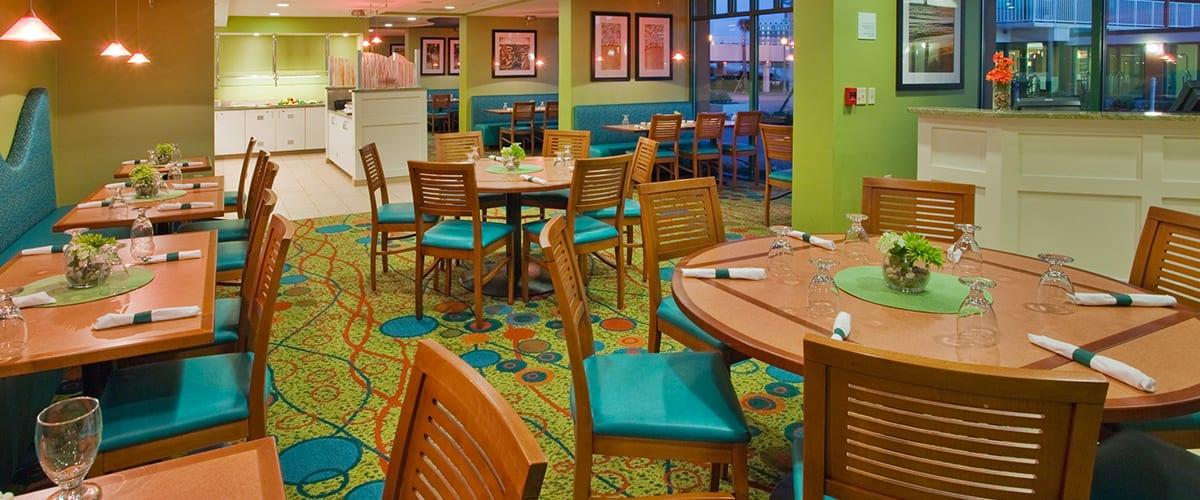 Virginia Beach hotel - The Greenery restaurant