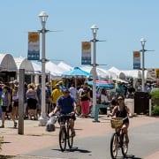 Virginia Beach hotel - events - MOCA Boardwalk Art Show