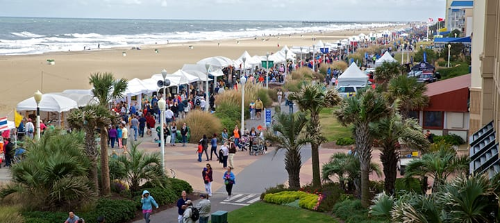 Virginia Beach hotel - events - Neptune Festival