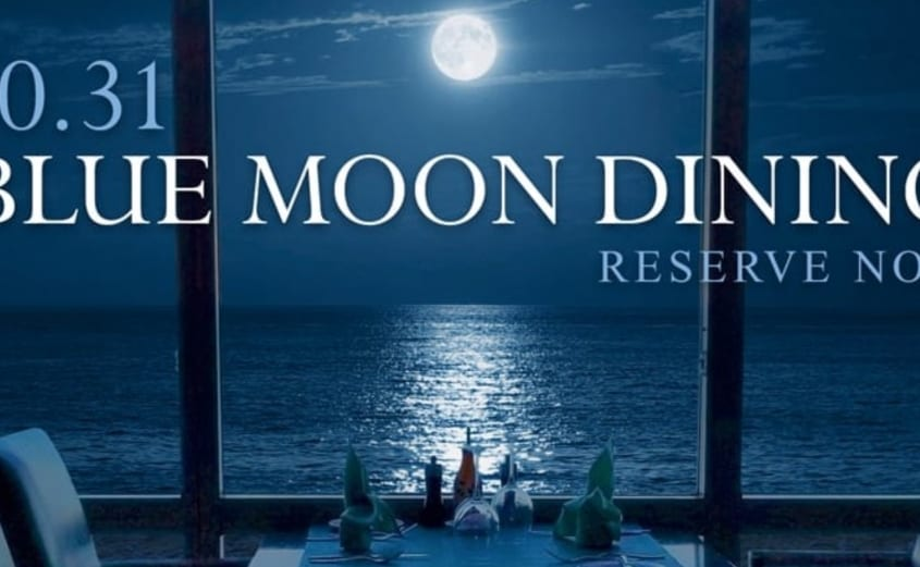 Blue Moon Oceanfront Dining Event at Isle of Capri | virginia Beach oceanfront Hotel