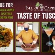 Isle of Capri - Taste of Tuscany