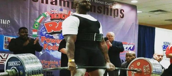 100 RAW Powerlifting Single Lift World Championships